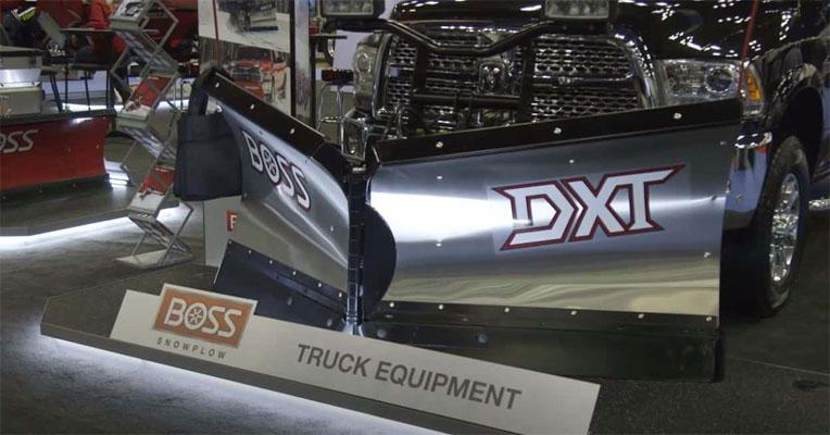 BOSS DXT V Plow