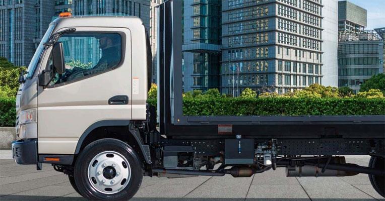 Mitsubishi 2020 Fuso FE180 Plow Prep Package