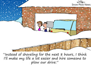 Snow Plow Cartoon