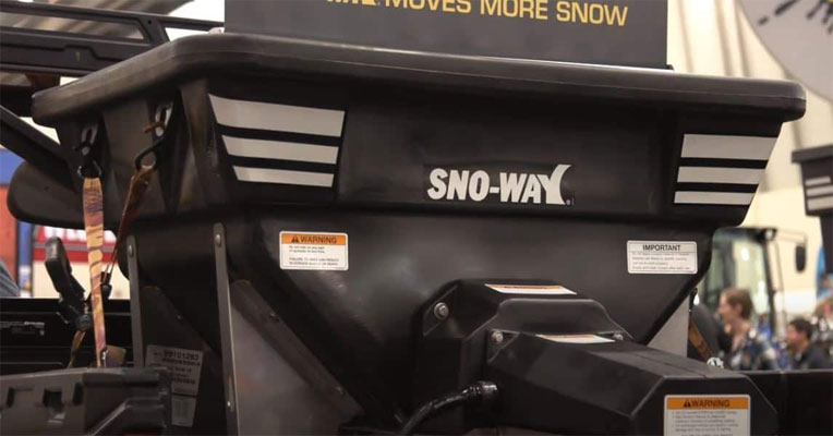 Sno-Way Drop Spreader Hood